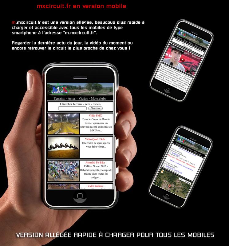 mxcircuit en version mobile pour smartphone mx. Black Bedroom Furniture Sets. Home Design Ideas