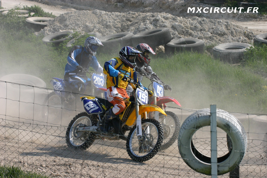 Photo 4 du Circuit Moto Cross de Mailly le Camp