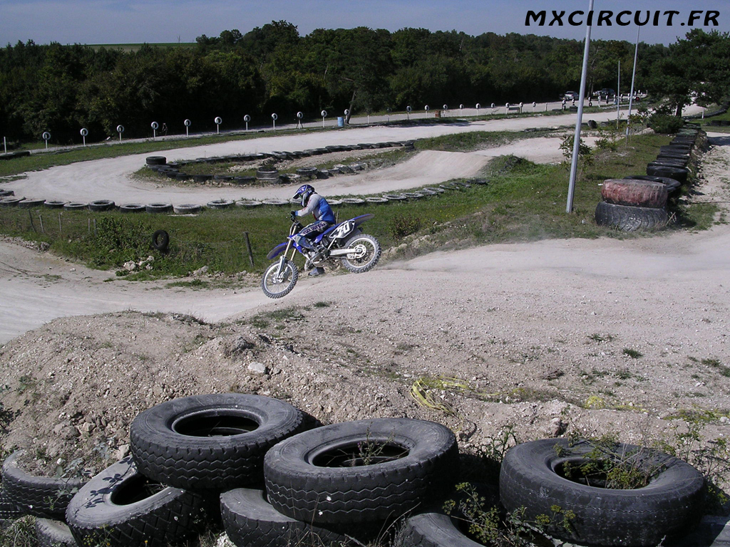 Photo 10 du Circuit Moto Cross de Mailly le Camp