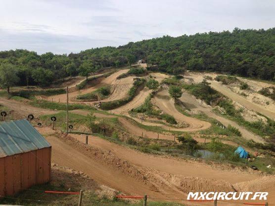 motocross terrain