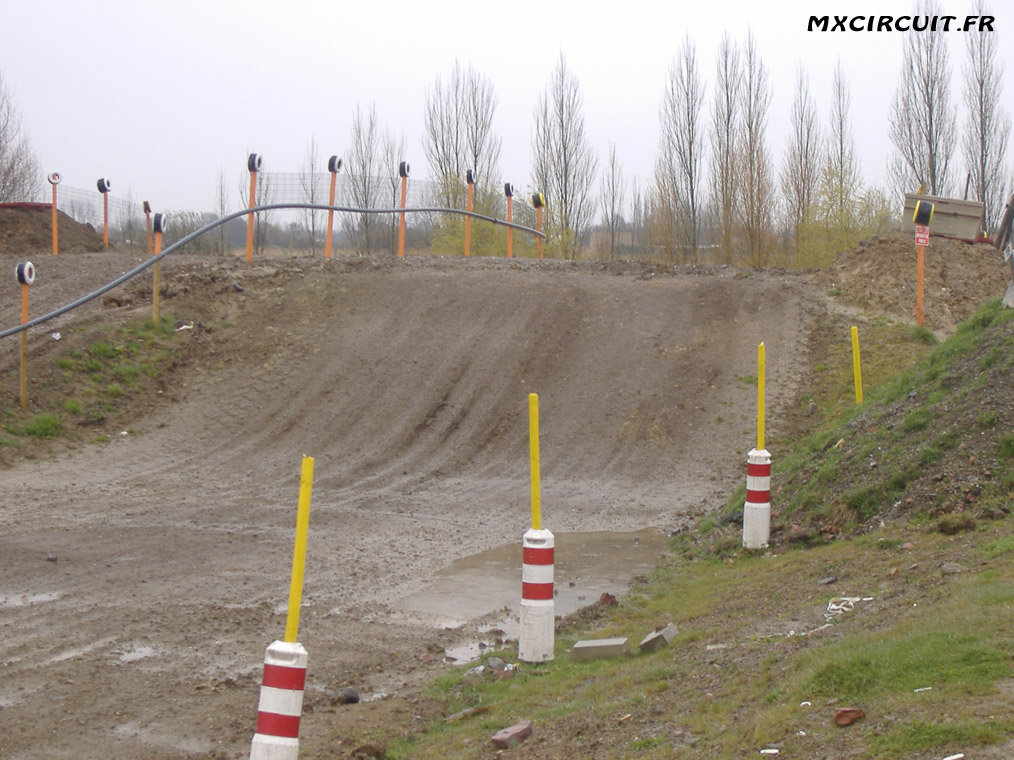 photos du terrain circuit moto cross de dunkerque loon