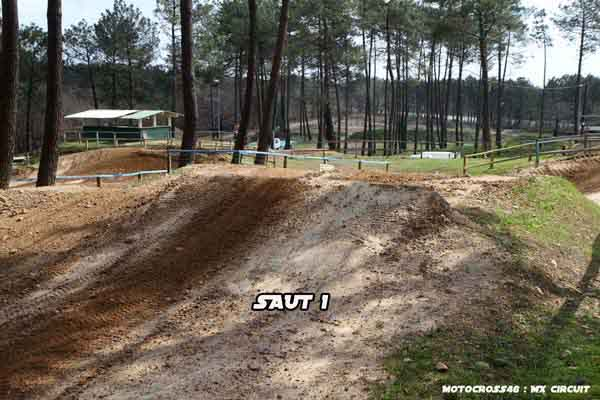 Photos du terrain circuit moto cross de saint vincent de for Papeterie saint vincent de tyrosse