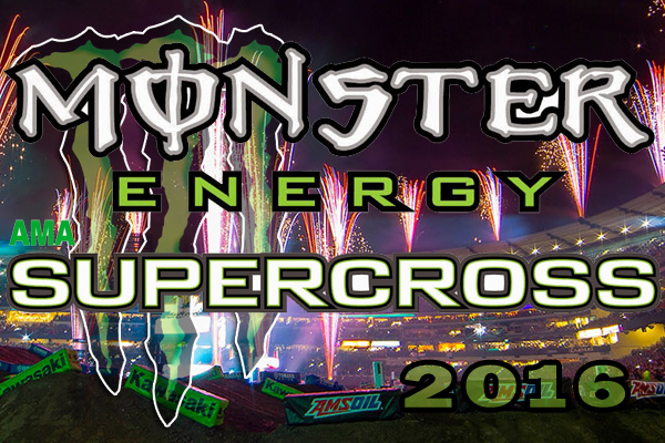 Calendrier et retransmissions TV du Supercross AMA 2016