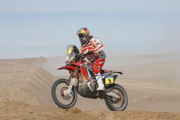 Dakar 2015 - étape 9 -  Helder Rodrigues réagit