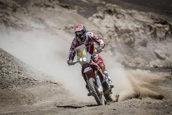 Dakar 2015 - étape 10 - Joan Barreda fait le spectacle