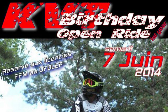 Le KVT Birthday Open Ride 2014 – Tous à vos Pit Bikes