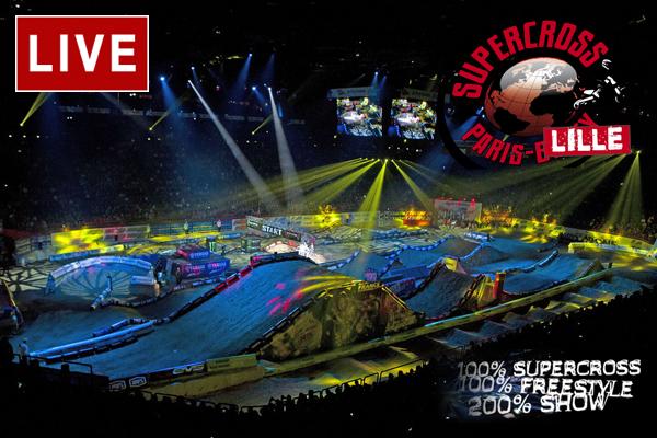 Où regarder le Supercross de Lille en Live ?