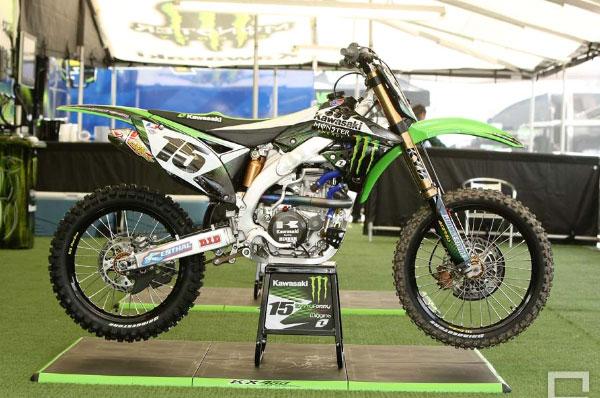 motocross d'usine