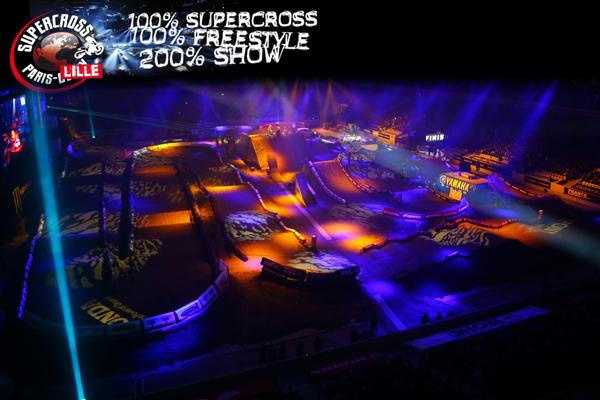 Tout ce qu'il faut savoir sur le Supercross de Paris-Lille 2015