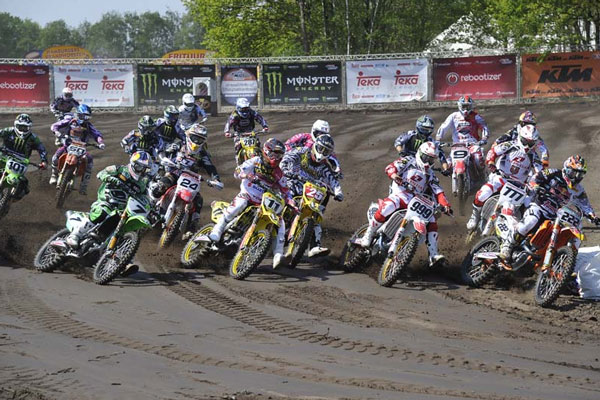motocross mx1 Start Valkenswaard 2012