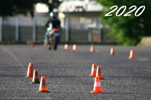 En 2020, l'examen du permis moto change