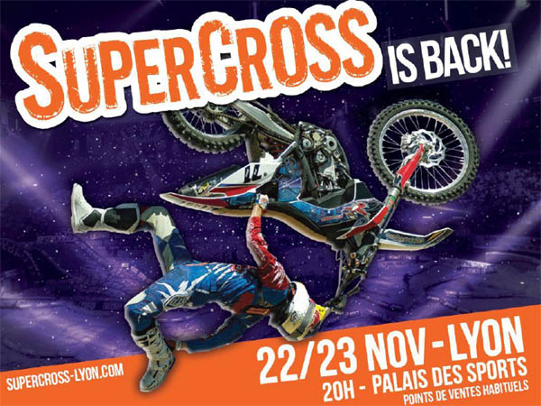 Supercross Lyon 2013 SX Tour