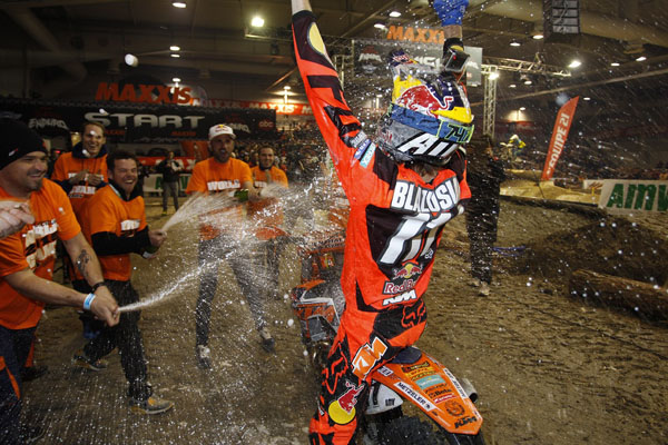GP SuperEnduro France 2015 - Taddy Blazusiak champion