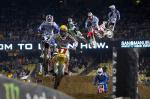 Photos du supercross ama de Los Angeles 2011