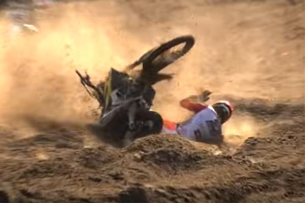 MXGP, Arminas Jasikonis goûte au sable de Lommel