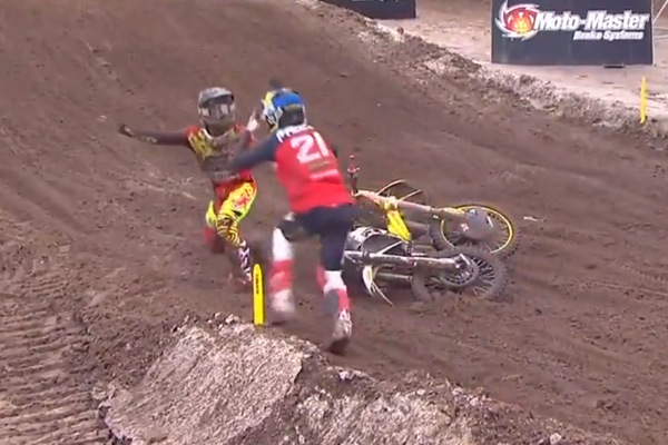 Altercation virile mais sportive entre Paulin et Barcia !