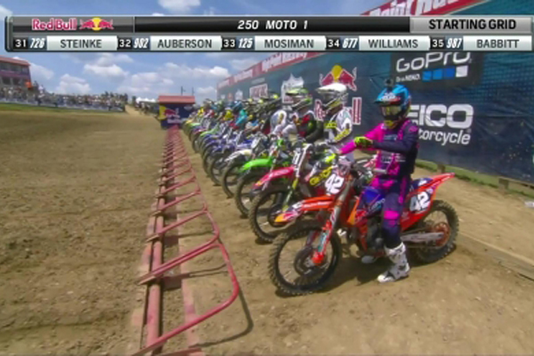 Motocross AMA, les 4 courses en int�gralit� � High Point