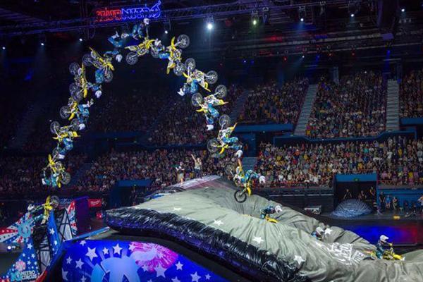 Nitro Circus Anniversary, une soir�e historique avec 3 records de monde