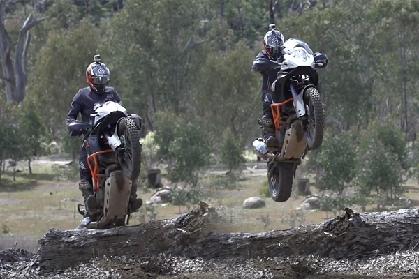 Ils testent la KTM 1190R Adventure en enduro extr�me