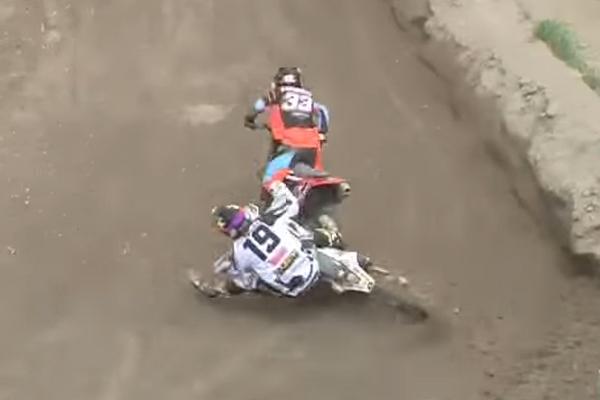 MXGP, double chute de Julien Lieber et Thomas Kjer Olsen à Trentino