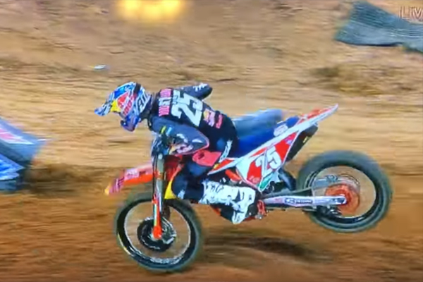SX AMA, Marvin Musquin chute à Houston