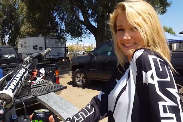 Rachel Van Diepen, une vraie Badass MX girl