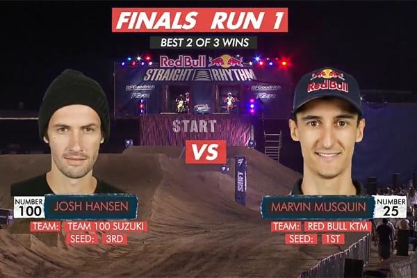 Marvin Musquin remporte haut la main le Red Bull Straight Rhythm