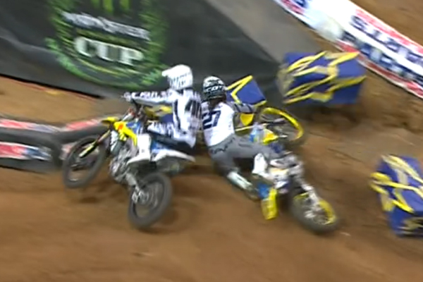 SX AMA, Big crash de Malcolm Stewart à St Louis