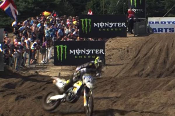 MXGP, L'énorme crash de Thomas Covington à Lommel