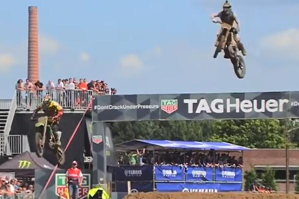 Big Jump de Gautier Paulin pour doubler Desalle à Lommel