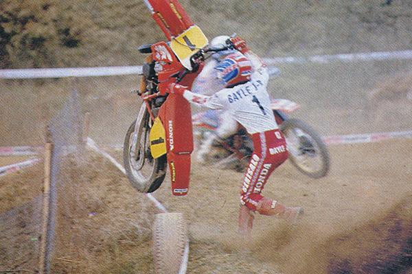 La vie difficile d'un pilote motocross dans les années 90