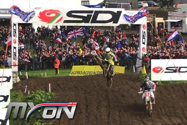 Mx des Nations, énorme Crash de Max Anstie en qualif
