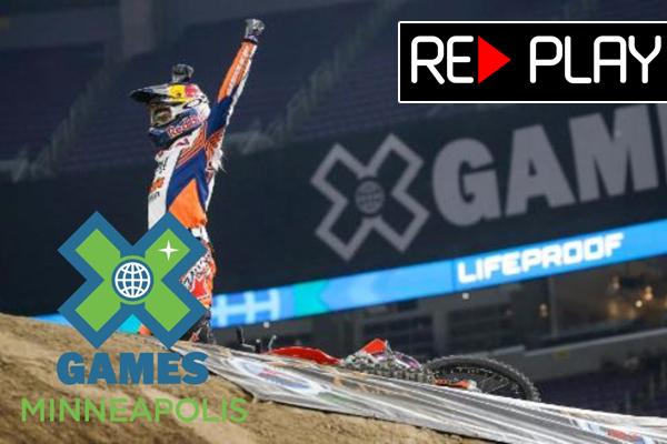 Replay, Les X-Games Moto X en intégralité