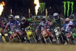 J-4 avant la reprise du Monster Energy AMA Supercross à Anaheim