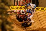 Vidéo EnduroCross Salt Lake City 2014 - Cody Webb bat Taddy Blazusiak