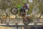 Ryan Villopoto � l'entrainement avant le motocross ama Thunder Valley 2013
