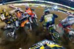 Best of du supercross de Los Angeles 2012