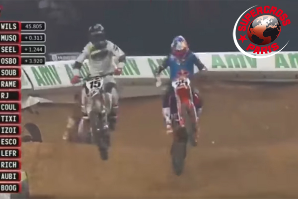 Supercross de Paris, Marvin Musquin Vs Dean Wilson