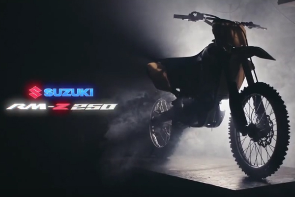 Suzuki nous d�voile le clip de promo de la nouvelle RMZ250 2016