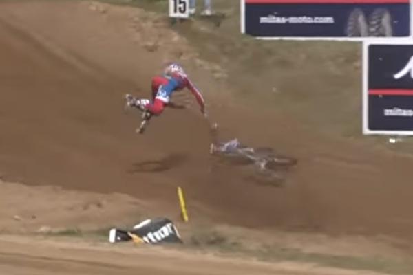 MXGP, Top 5 des crashs lors du GP de Lettonie
